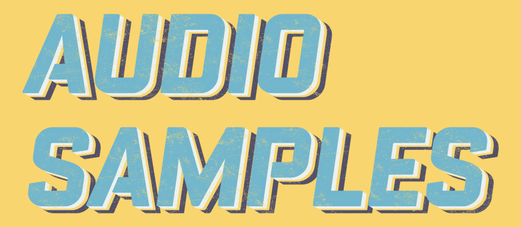 audio samples